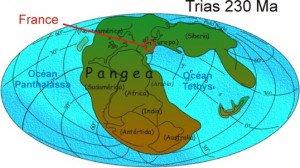 Monde au Trias